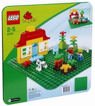 LEGO-Duplo-bambini-1-2-anni-Base-verde