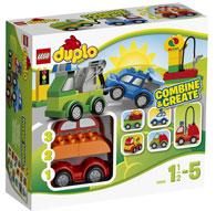 LEGO-Duplo-bambini-1-2-anni-crea-le-tue-macchinine