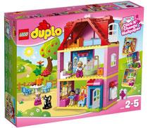 LEGO-Duplo-bambini-1-2-anni-la-casa-rosa