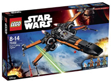 LEGO-7-8-anni-Star-Wars-Poe'S-X-Wing-Fighter