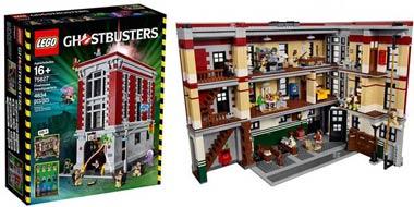 LEGO-Collezionisti-Ghostbuster-caserma