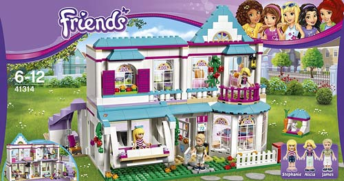 LEGO-Bambina-casa-stephanie