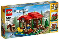 LEGO-bambini-6-anni-Baita-sul-Lago