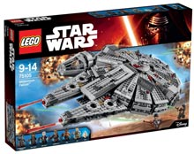 LEGO-10-12-anni-millenium-falcon