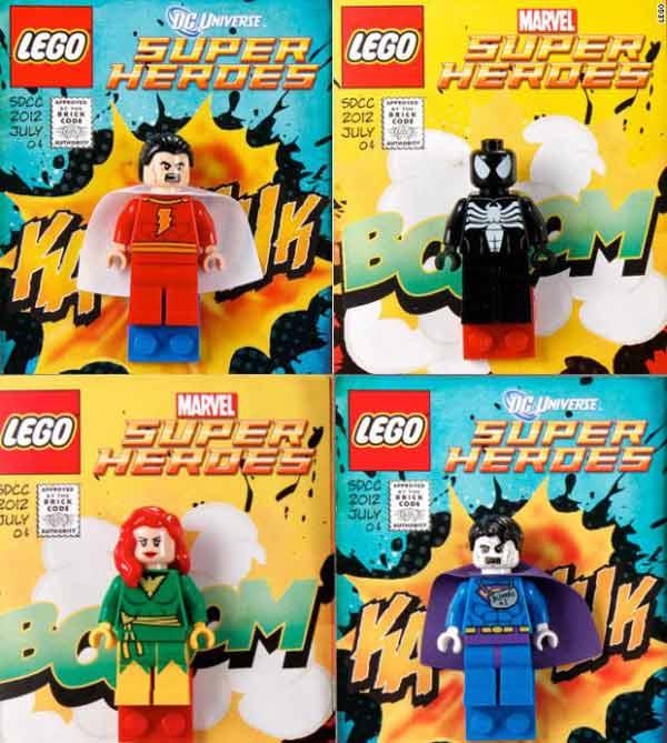 Lego Minifigure I 20 Pi 249 Rari E Costosi Omini Da Collezione