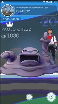 Pokemon go livellare palestre
