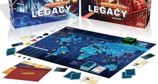 Pandemic Legacy giochi di società