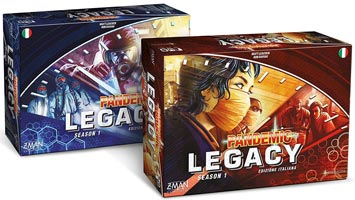 Pandemic Legacy giochi da tavolo
