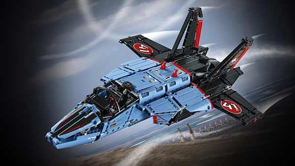 Lego Technic jet