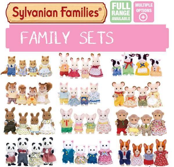 Sylvanian-Families-Set-Famiglie