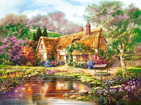 puzzle 3000 pezzi Castorland Woodgreen