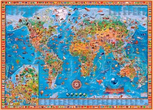 puzzle 3000 heye-amazing-world