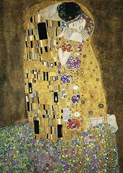puzzle 1000 pezzi bacio-klimt