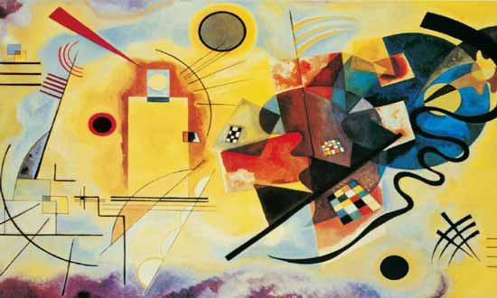 puzzle 1000 pezzi giallo-rosso-blu