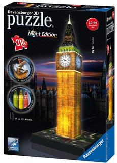 puzzle 3d big-ben