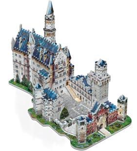 puzzle 3d castello-Neuschwanstein