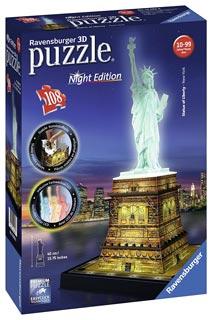puzzle 3d statua-della-libertà