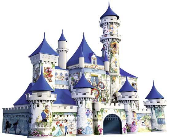 puzzle bambini castello disney