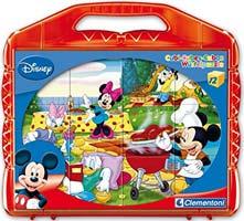 puzzle bambini cubi topolino
