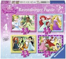 puzzle bambini disney princess