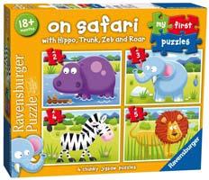 puzzle bambini safari