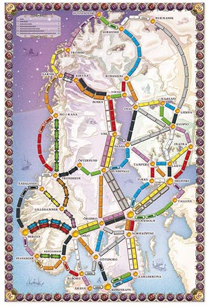 ticket to ride paesi-nordici
