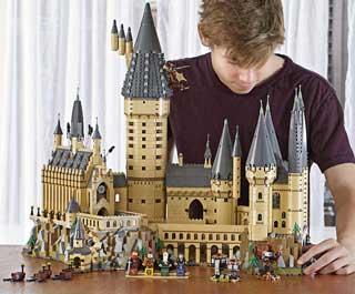 lego castello harry potter hogwarts